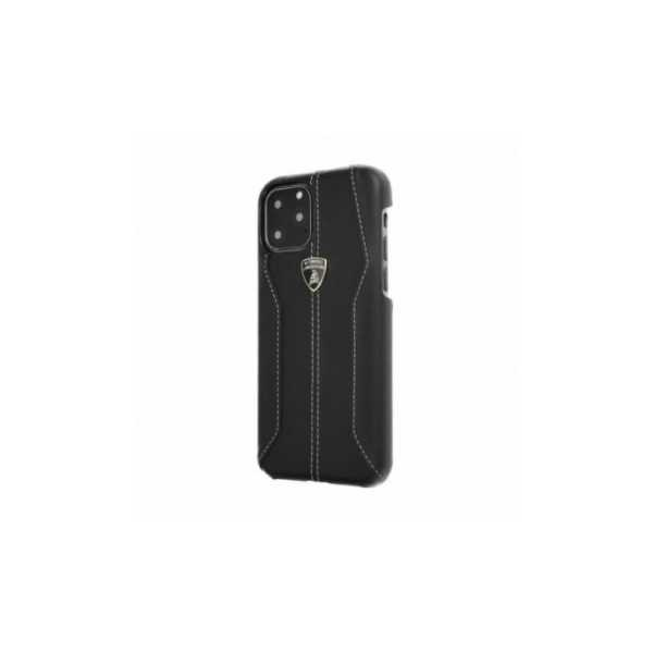TPU cover Lamborghini Originálny zadný kryt for Apple iPhone XR Black